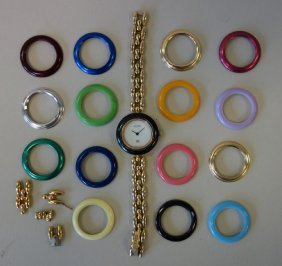 Gucci Ladies Wristwatch Multi-colored Bezels