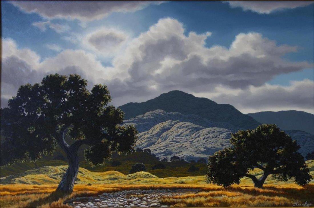 Frank Kecskes Jr (b-1952) Beautiful Vista, California