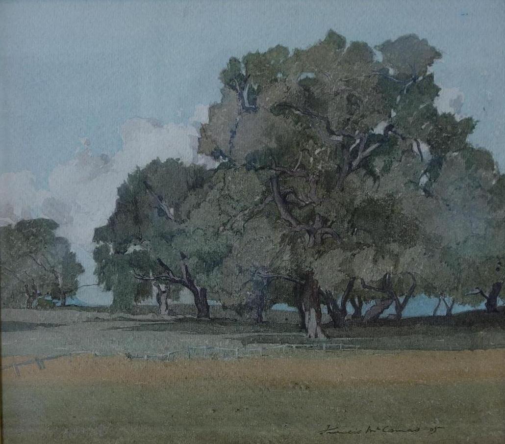 Francis J. McComas (1875-1938) Pacific Grove