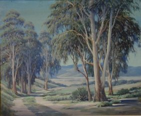 Ralph Hammeras (1894-1970) California Landscape