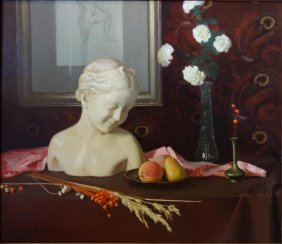 Gary Hoffmann (american,1947) Classical Still Life