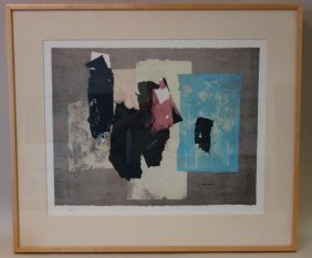 Paul Horiuchi (1906-1999) Untitled Abstract