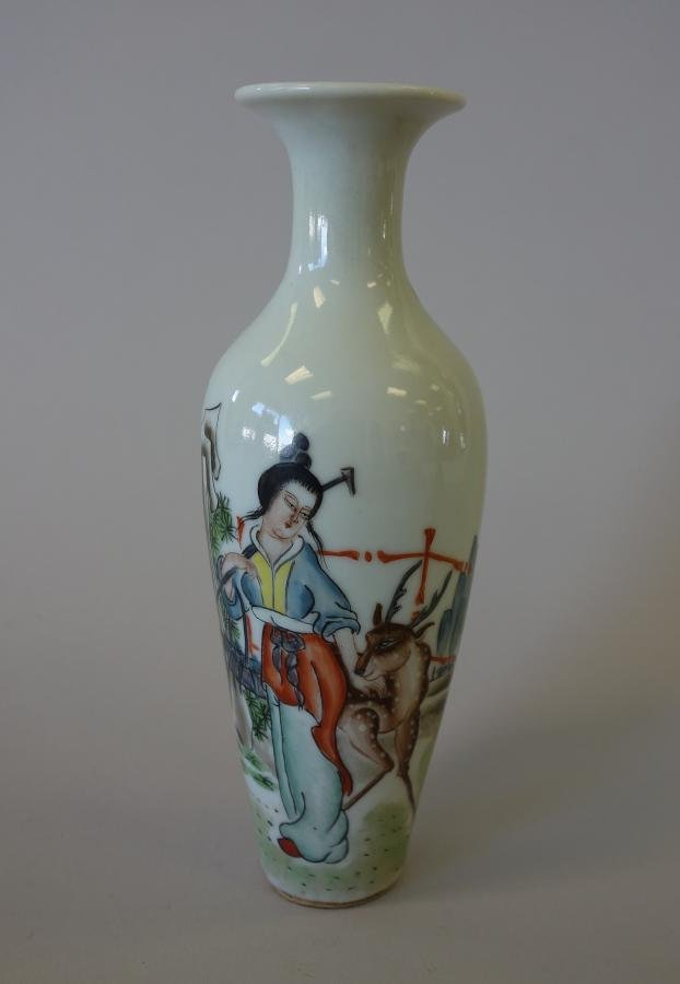 Chinese Porcelain Vase, Qing Dynasty, Xuantong
