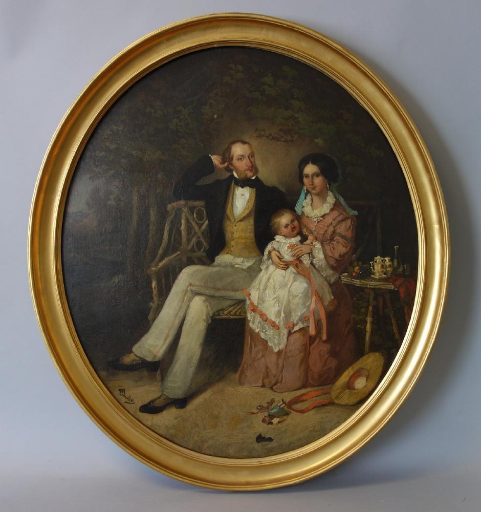 Alfred Chalon (1780-1860) Victoria, Albert & Edward VII