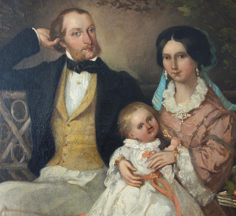 Alfred Chalon (1780-1860) Victoria, Albert & Edward VII - 2