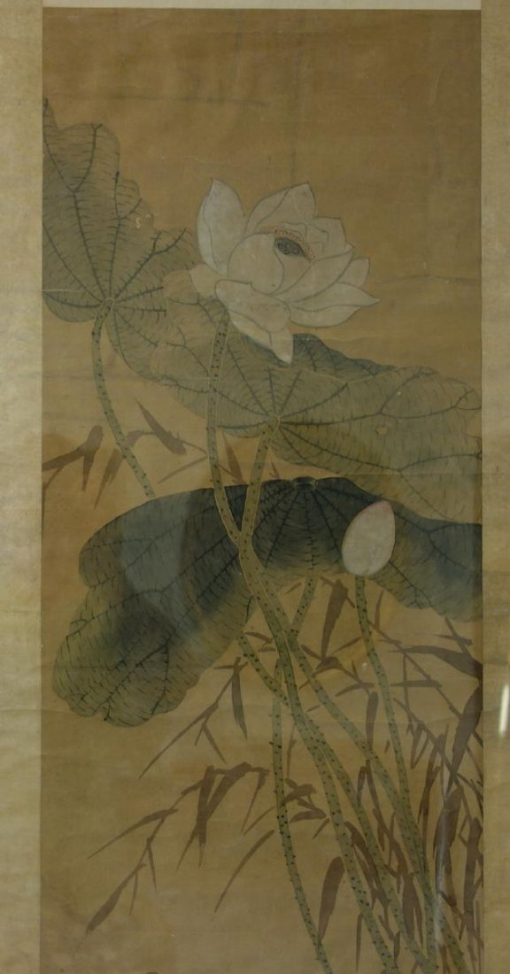 Fine Japanese Scroll Painting, Signed - 5
