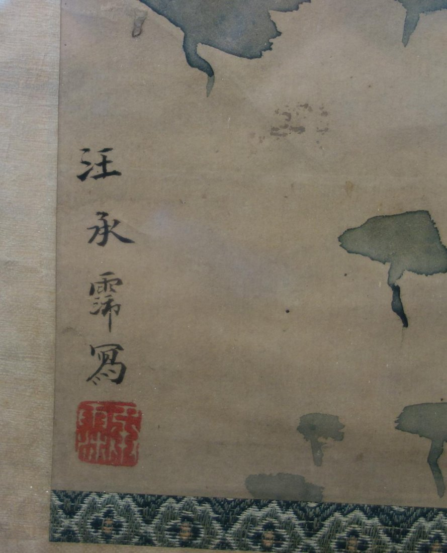 Fine Japanese Scroll Painting, Signed - 8