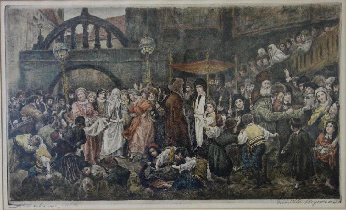 Wilhelm August Stryowski Marriage Scene in Galicia