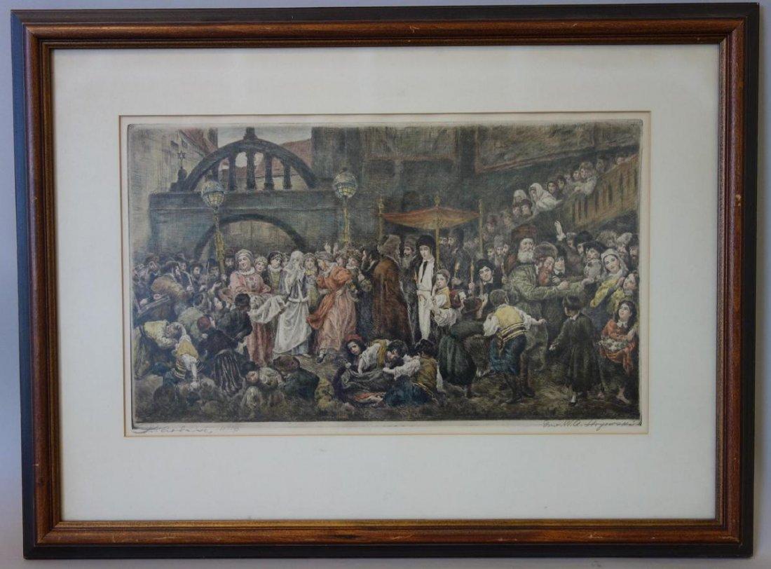 Wilhelm August Stryowski Marriage Scene in Galicia - 2