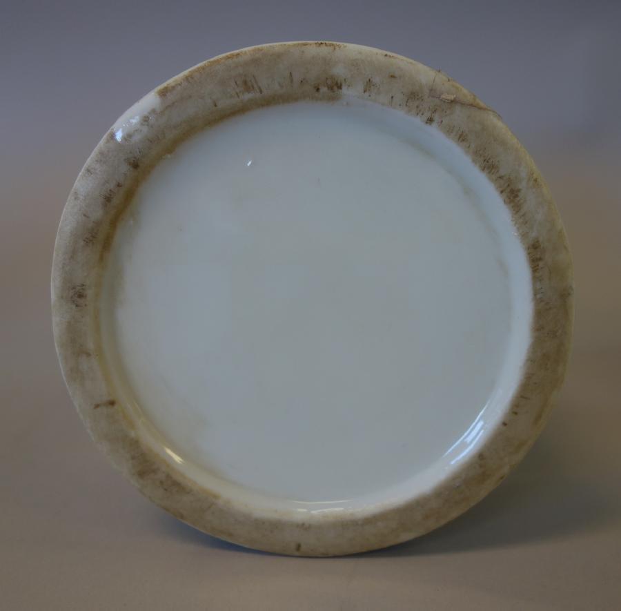 Chinese Blue & White Porcelain Candlesticks - 3