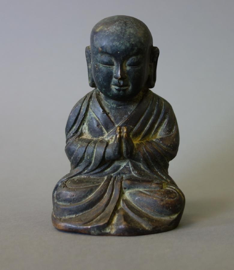 Korean Choson Dynasty Bronze Buddha