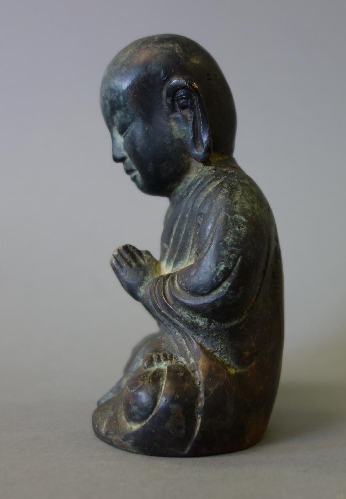 Korean Choson Dynasty Bronze Buddha - 2