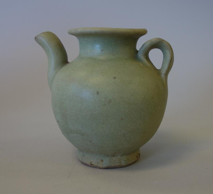 Chinese Song Dynasty Celadon Glazed Ewer