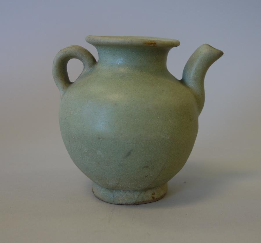 Chinese Song Dynasty Celadon Glazed Ewer - 2