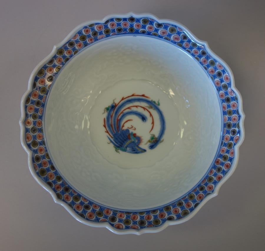 Fine Japanese Kakiemon Enameled Bowl, Signed - 5