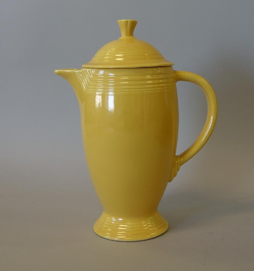 Fiesta Coffee Pot / Pitcher