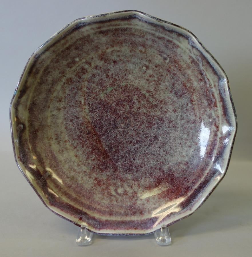 Japanese Porcelain Scalloped Bowl, Signed - 2