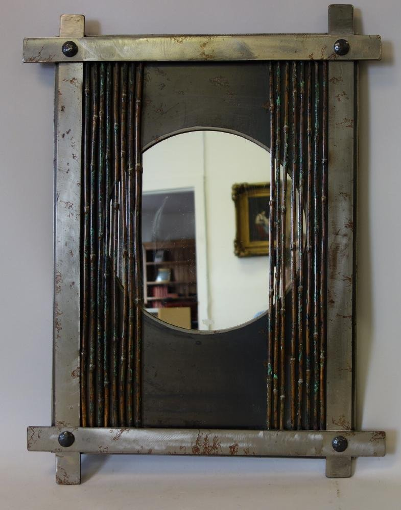 Jere Donnelly (Pacific Northwest) Art Metal Mirror