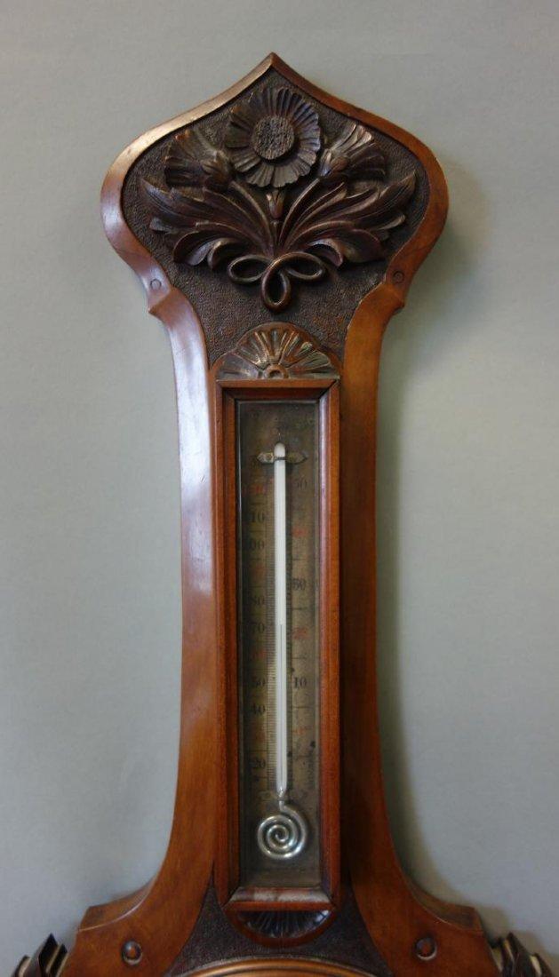 19thc English Barometer, Thomas Armstrong & Bro - 2
