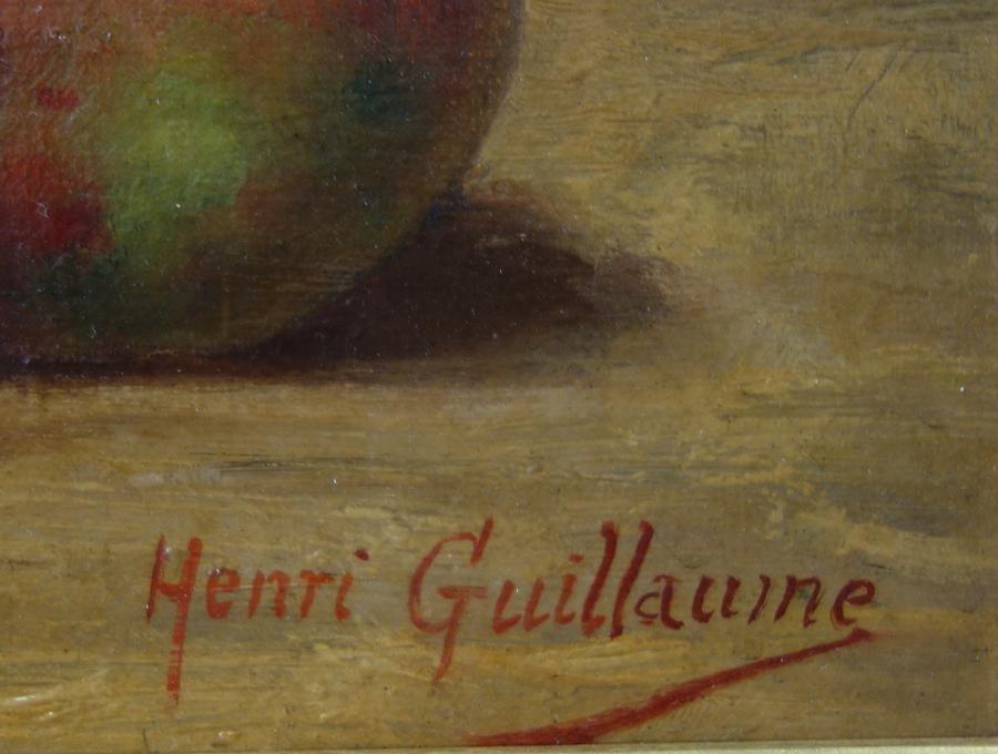 Henri Guillaume (France 19thc) Still Life - 3