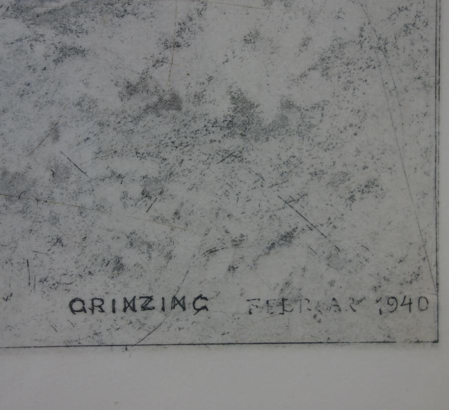 Luigi Kasimir (1881-1962) Grinzing in Winter - 3