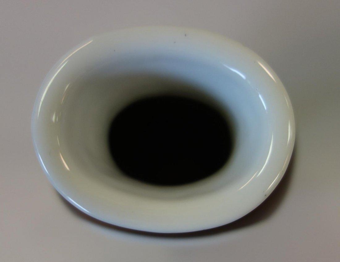 Chinese Porcelain Vase, Famille Verte Enamels - 8