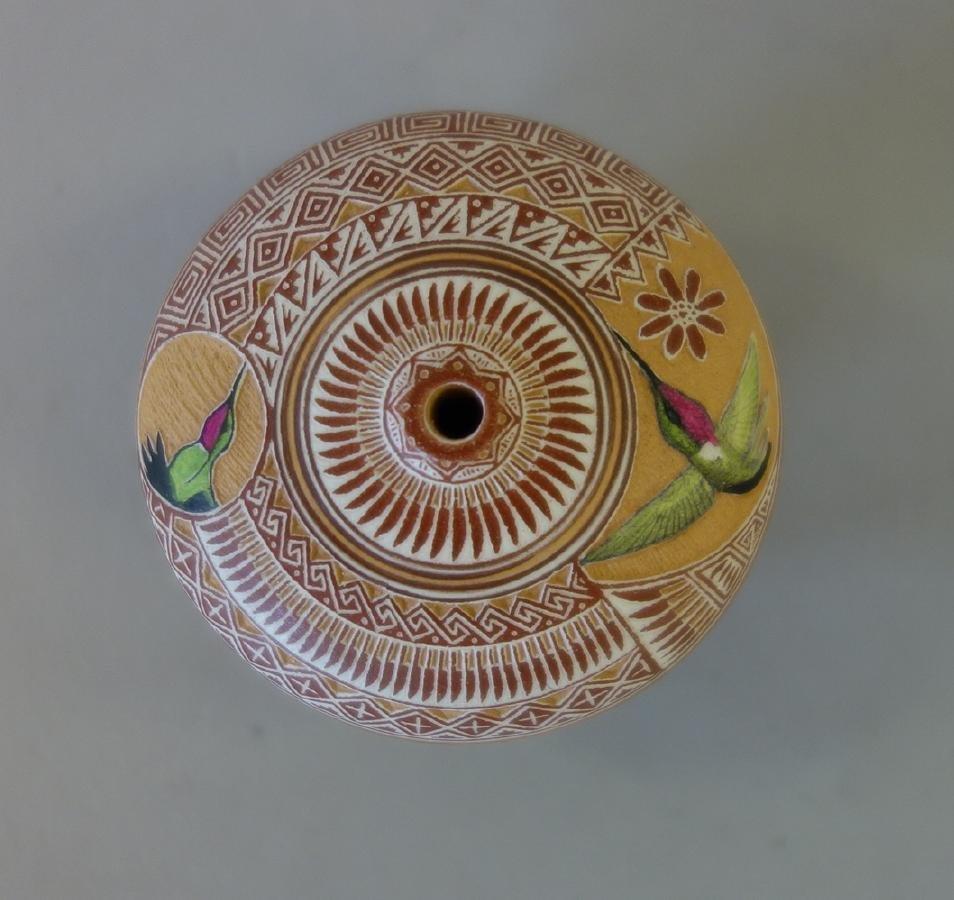 Wallace Nez, Navajo Pottery Seed Pot - 2