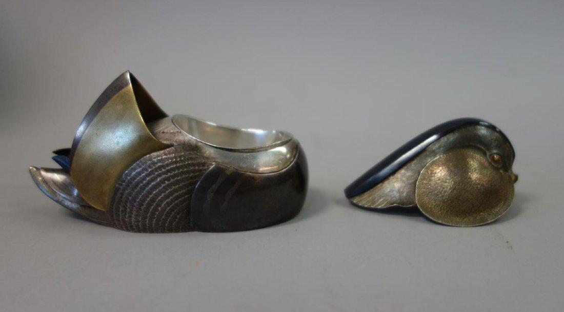 Unno Takeo (1905-1982) Art Deco Duck Formed Kogo - 4