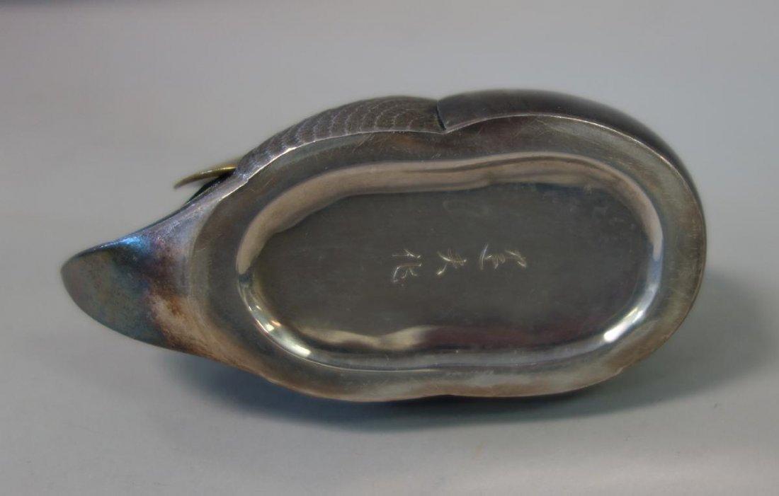 Unno Takeo (1905-1982) Art Deco Duck Formed Kogo - 7
