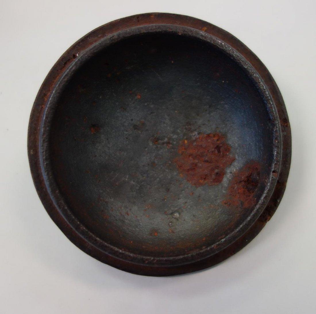 Kibundo Shohei, Iron & Bronze Teapot, Dragonfly - 9