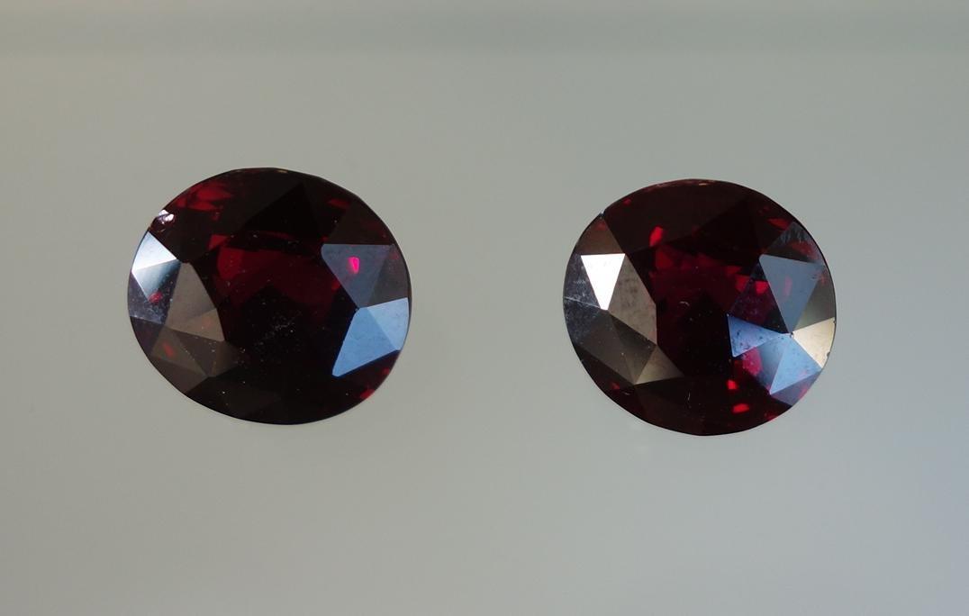 2 Burmese Ruby Gemstones, 19.46 Carats - 2