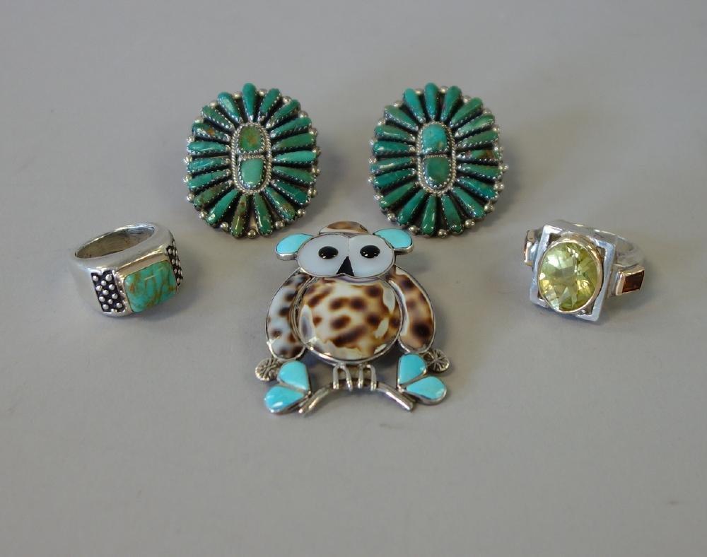 Southwest Jewelry, Earrings, Rings & Brooch