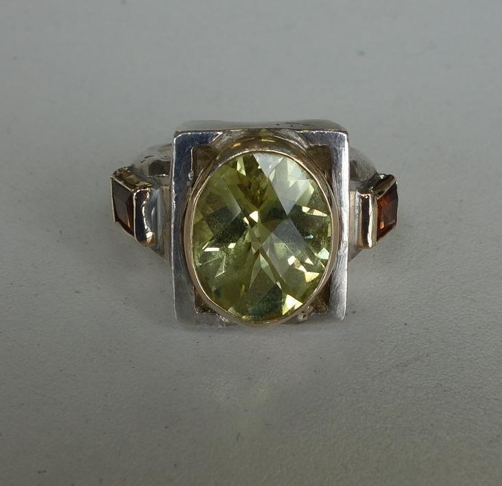 Southwest Jewelry, Earrings, Rings & Brooch - 4
