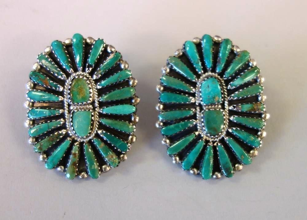 Southwest Jewelry, Earrings, Rings & Brooch - 6