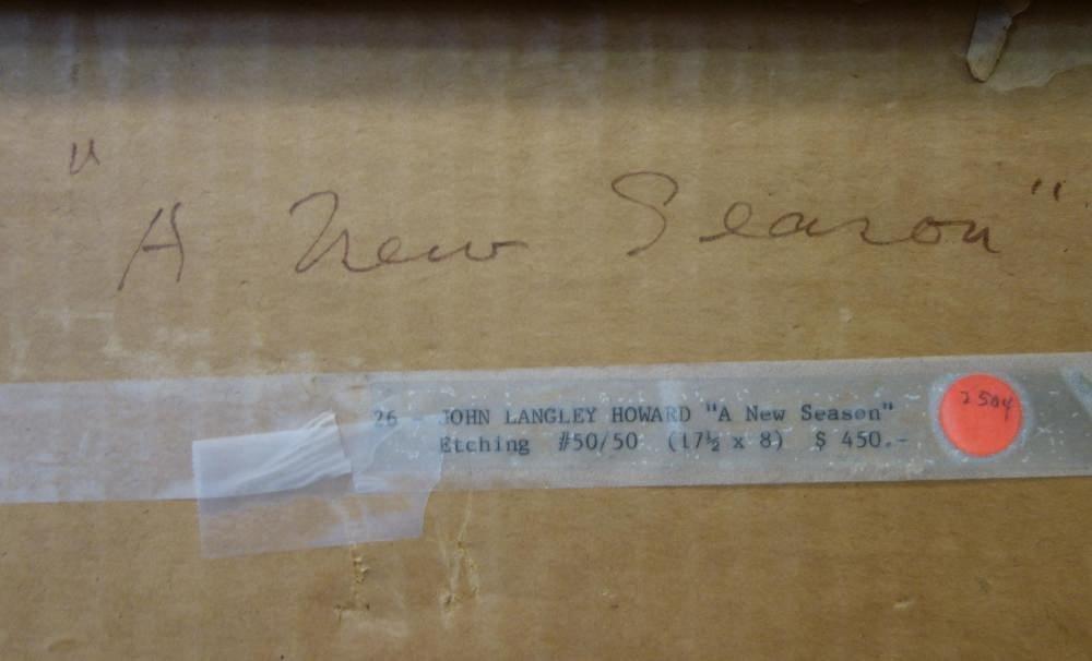 John Langley Howard (1902-1999) A New Season - 5