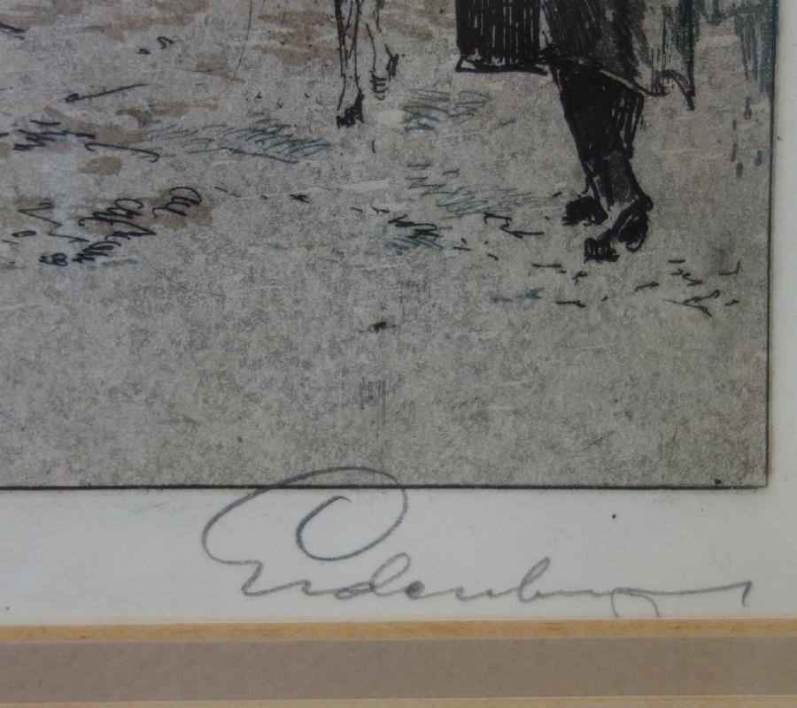 Josef Eidenberger (1899-1991) Wien am Graben - 3