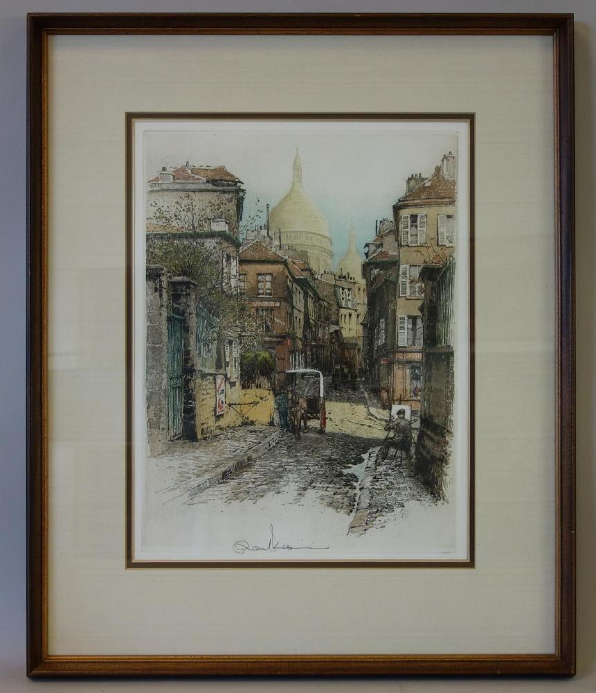 Robert Kasimir (1914-2002) Paris, Montmartre I