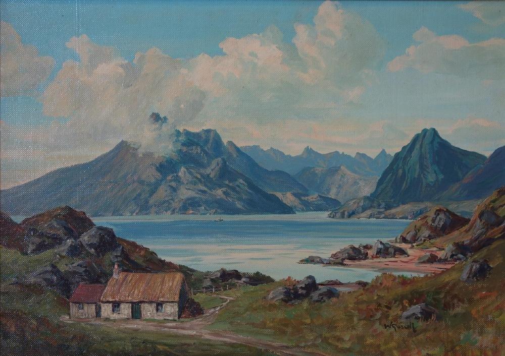 William Russell, M. A. Scottish Landscape