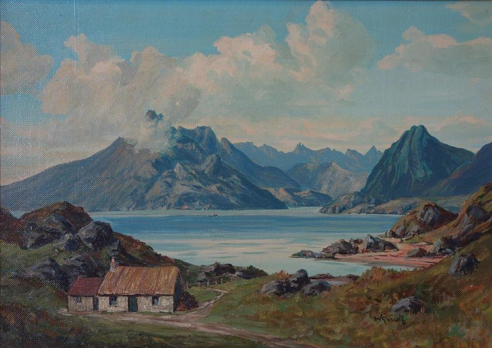 William Russell, M. A. Scottish Landscape