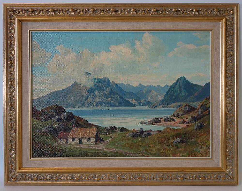 William Russell, M. A. Scottish Landscape - 2