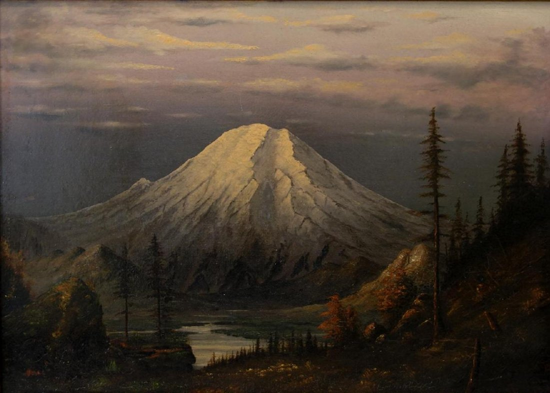 Mount Rainier Oil, 1894 Tacoma, A.S. Vallejo