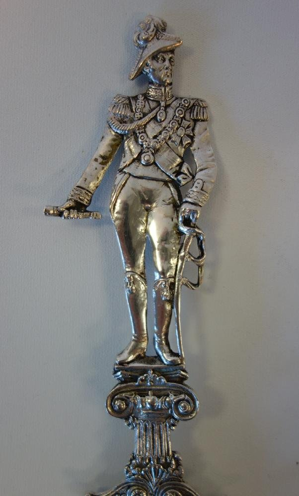 Hanau Silver Presentation Spoon Duke of Wellington - 3
