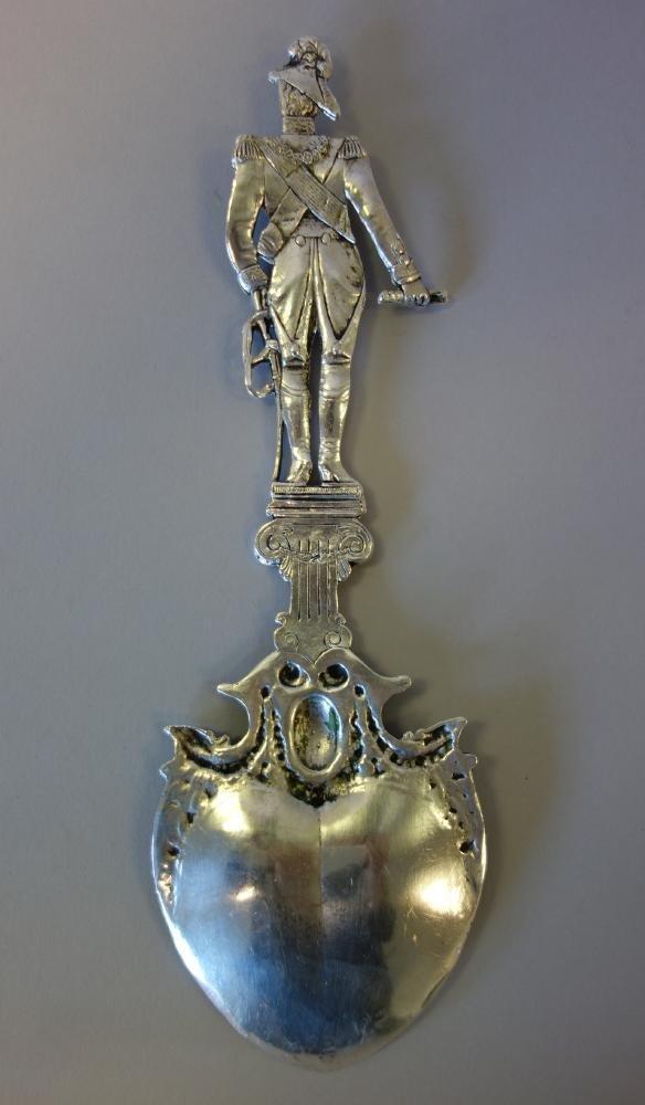 Hanau Silver Presentation Spoon Duke of Wellington - 5