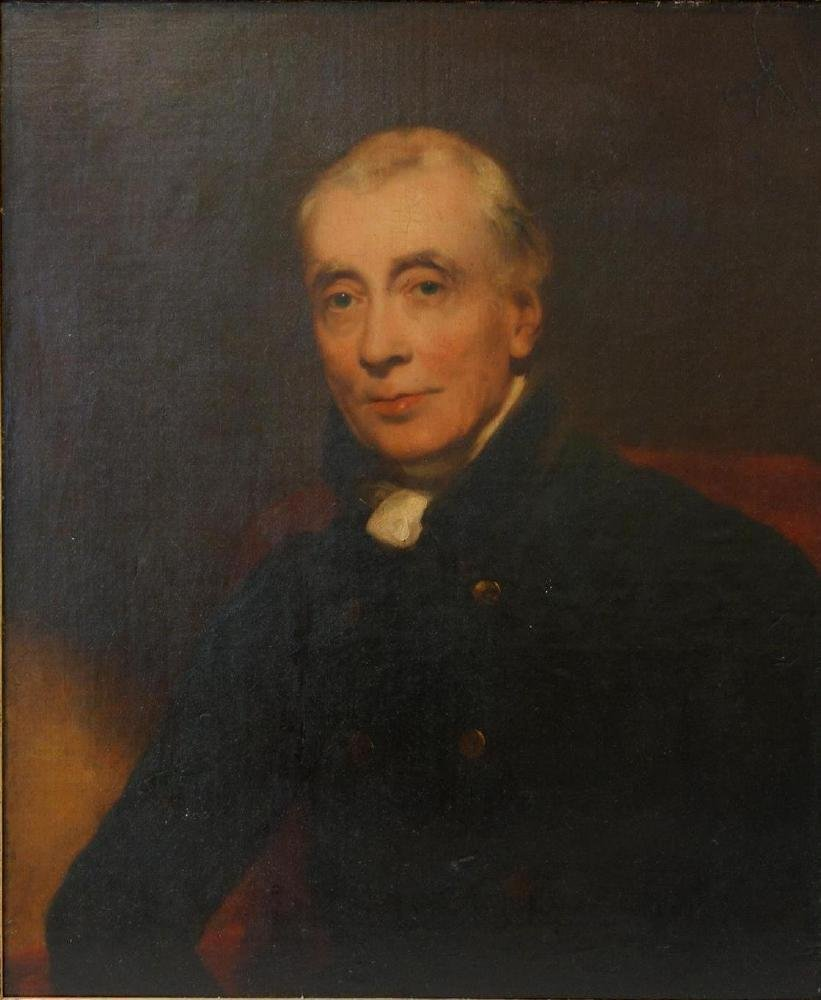 19thc English School, Portrait of a Gentleman - 2