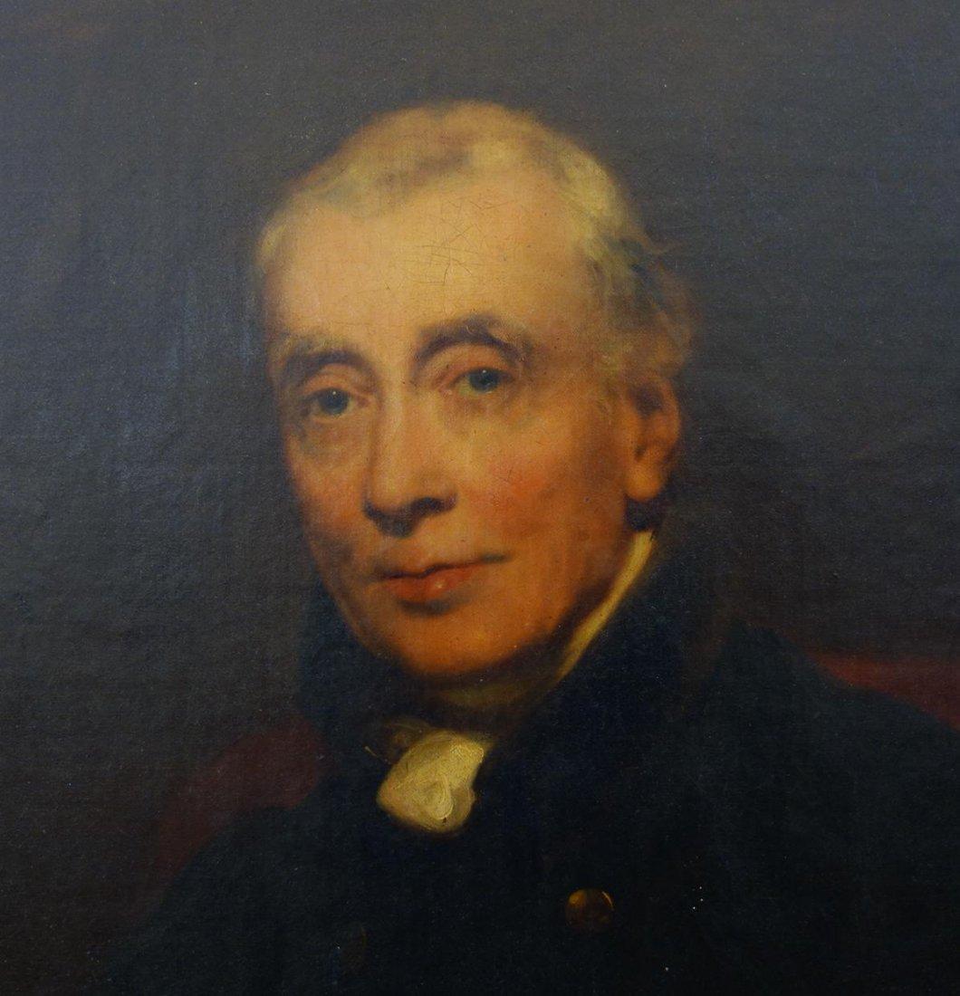 19thc English School, Portrait of a Gentleman - 5