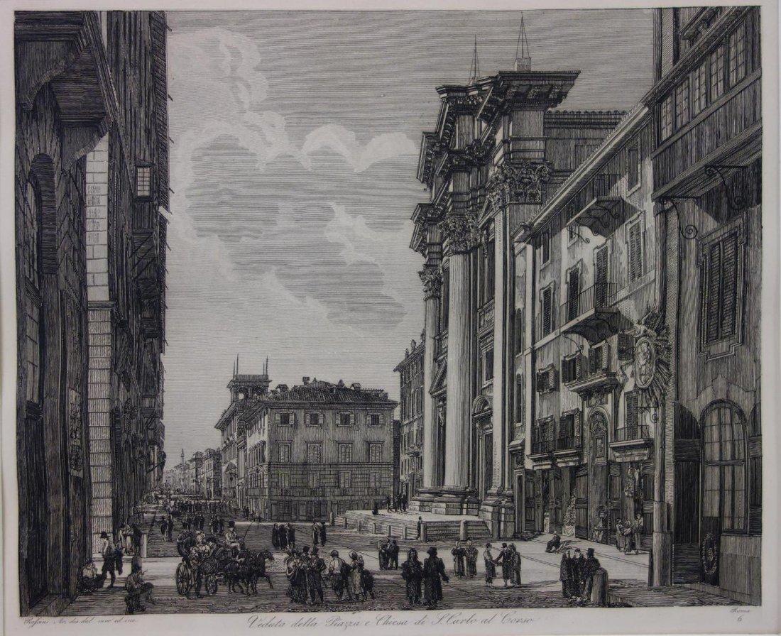 Luigi Rossini (1790-1857)  San Carlo al Corso