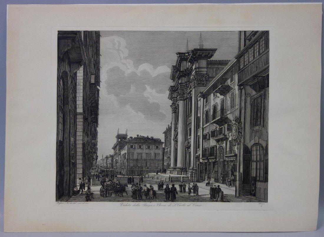 Luigi Rossini (1790-1857)  San Carlo al Corso - 2