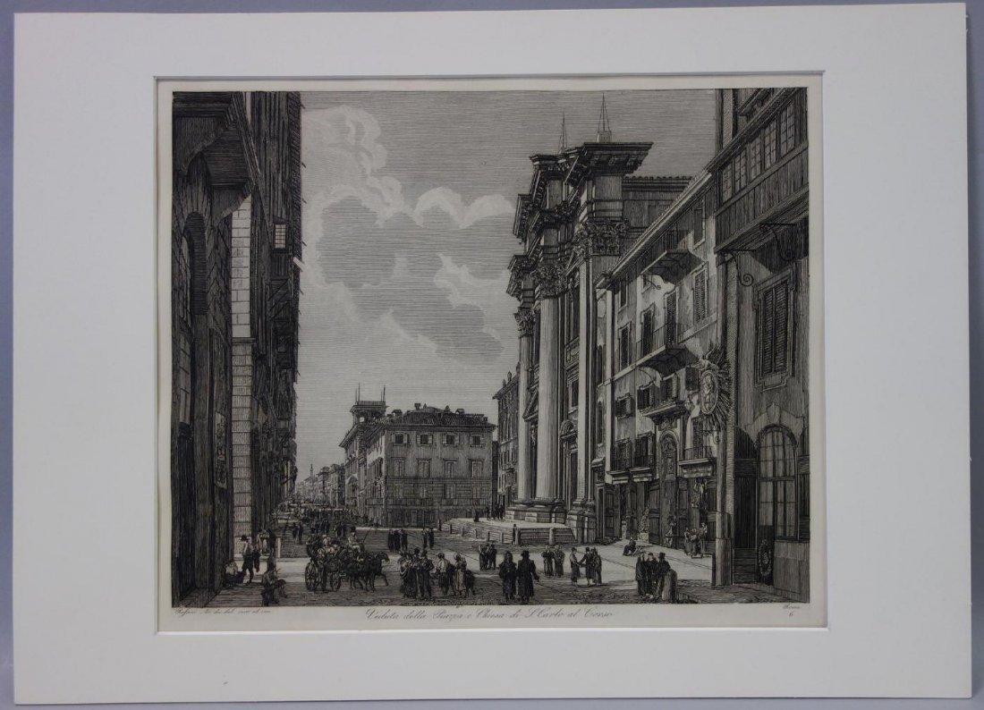 Luigi Rossini (1790-1857)  San Carlo al Corso - 3