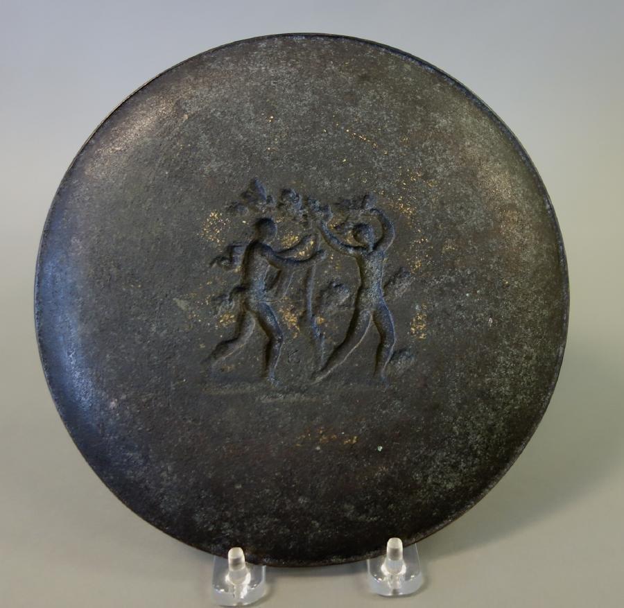 Fritz Nuss (1907-1999) Bronze Plaque Adam & Eve - 2