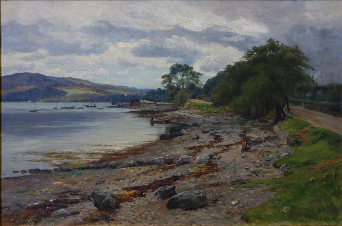 Peter S. Buchanan, The Shore at Tigh Na Bruaich